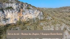 Lot vu du ciel - Chateau des Anglais / Espagnac Sainte Eulalie