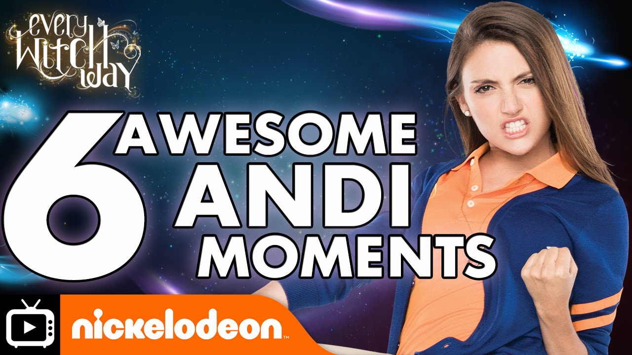 Download Every Witch Way | Six Awesome Andi Moments | Nickelodeon UK