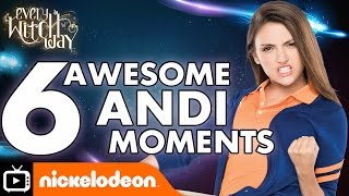 Every Witch Way | Six Awesome Andi Moments | Nickelodeon UK