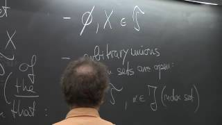 Topology - Bruno Zimmerman - Lecture 01