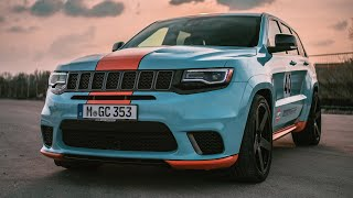 Jeep Grand Cherokee Trackhawk - 900 HP / 1000NM - Sound and Launch Control filmed on Sony A7iii [4k]