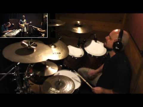 "[ drum cover ] ""Harlem Shuffle"" (Bob & Earl / The Rolling Stones) studio recording band cam"