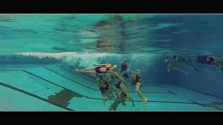 Синхронное плавание  То, что скрыто под водой.