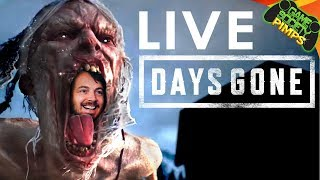 Live DAYS GONE (Open World PS4 Zombie Game)