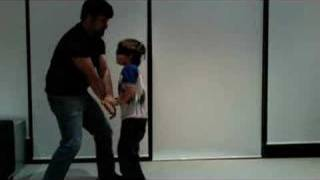 6 yr old Blind folded Kung Fu Training Thumbnail