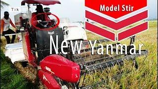 New! alat berat mesin panen padi Yanmar pake stir