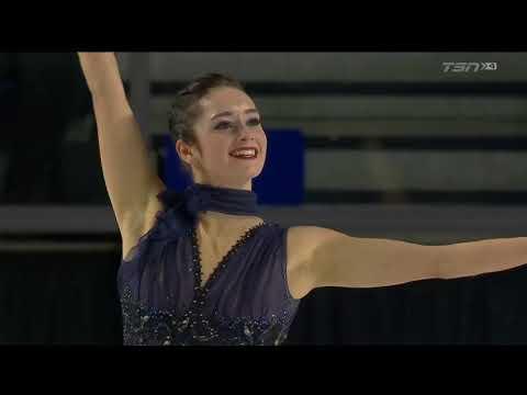 Kaetlyn Osmond 2018 Canadian Tire National Skating Championships - SP