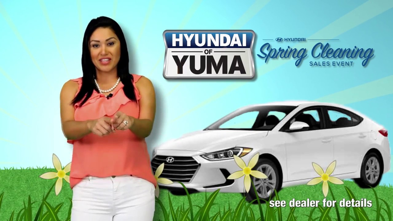 Hyundai of Yuma Spring Cleaning Event - YouTube