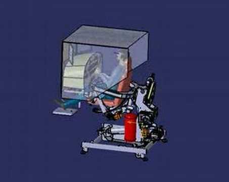 4 dof flight simulator full motion platform youtube. Black Bedroom Furniture Sets. Home Design Ideas