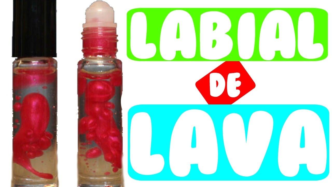 Haz Un Labial De Lava Diy Lava Lamp Lip Gloss Youtube