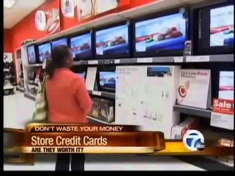 Saving Using Store Credit Cards