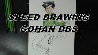 HOW TO DRAW GOHAN ( DRAGON BALL SUPER )
