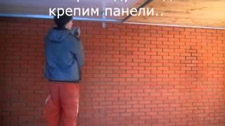 потолок в гараже(Пластиковый потолок в гараже., 2016-01-02T12:44:26.000Z)