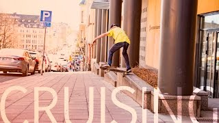 Cruising through the city | Skateboarding video