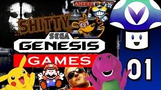 [Vinesauce] Vinny - Shitty Sega Genesis Games (part 1)