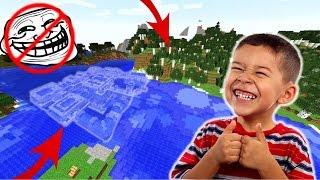 ✌️ A Világ LEGBIZTONSÁGOSABB Minecraft Háza!!! ✌️