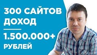 ТОЛЬКО ВЕБМАСТЕРА ПОЙМУТ, ЧТО ТАКОЕ РАЗВИВАТЬ 300 САЙТОВ - КЕЙС - ДЕНИС ЛАРИОНОВ