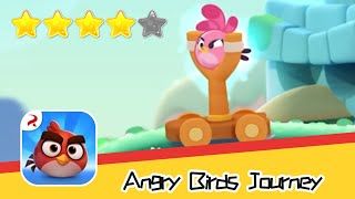 Angry Birds Journey 53 Walkthrough Fling Birds Solve Puzzles Recommend index four stars