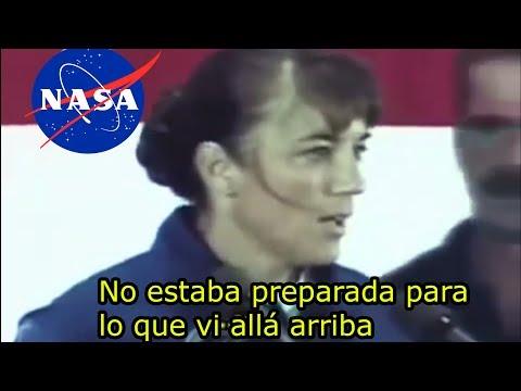 Esta Astronauta se desmay� al hablar de OVNI