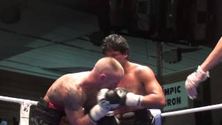 Combate Boxeo Javier Garcia Roche vs Miguel Aguilar II