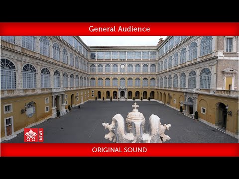 September 16 2020 General Audience Pope Francis