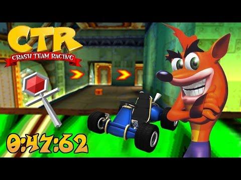 Crash Team Racing - N. Gin Labs | Platinum Relic Race: 0:47:62