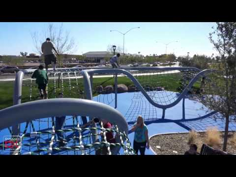 Voted the #1 park in 2016 by USA Today, Dynamo Playgrounds introduces Riverview Park!