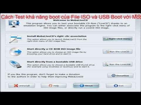 3 phần mềm test nhanh usb boot đã được tạo thành công hay chưa