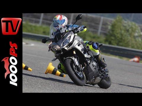 Kawasaki Versys 1000 Test 2016 | Big Enduro Melken