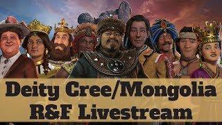 Video Deity Mongolia Livestream - Civilization 6 Rise and Fall download MP3, 3GP, MP4, WEBM, AVI, FLV Maret 2018