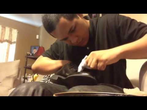 How to shine JROTC uniform shoes