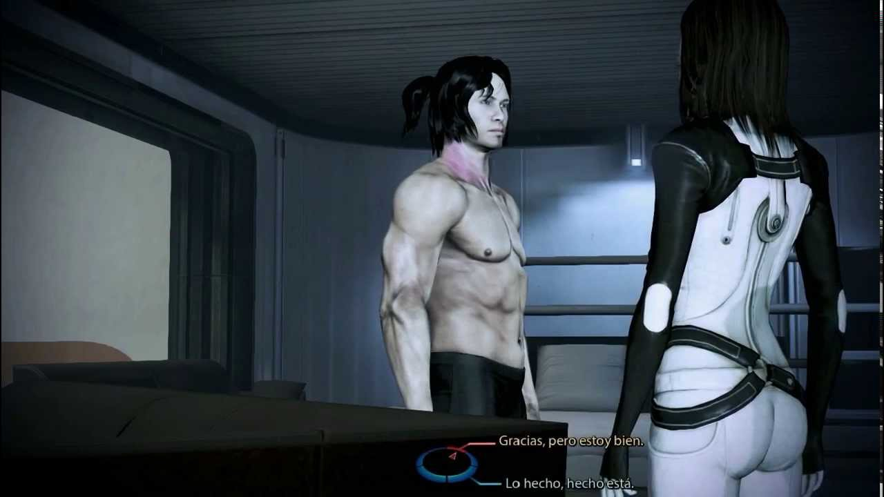 Shepard naked body mass effect are not