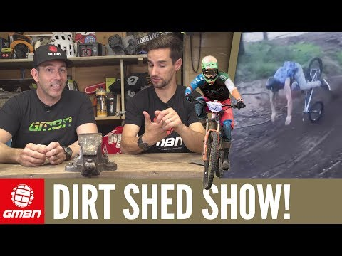 How Did Richie Rude Not Crash? | Dirt Shed Show Episode 115