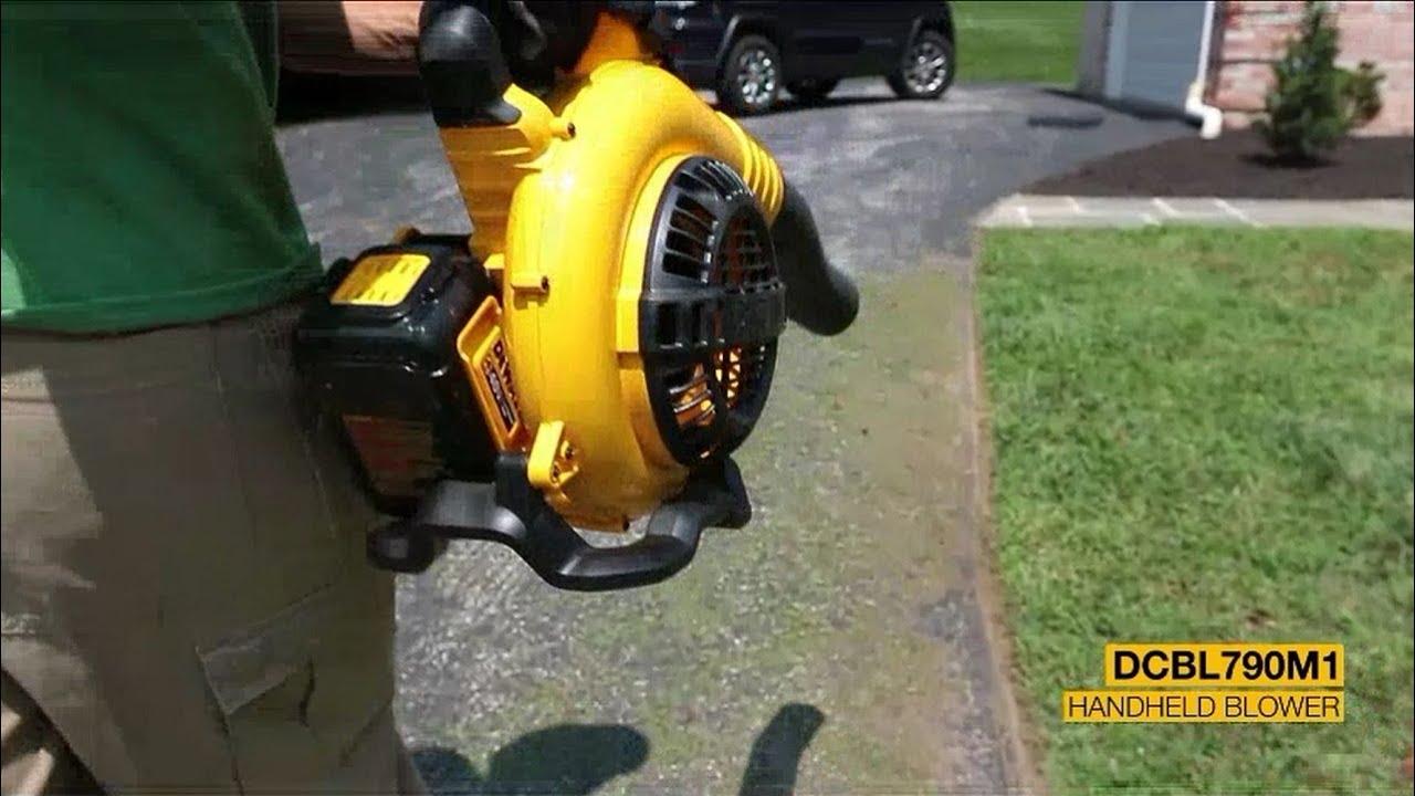 Dewalt 40v Max Cordless Xr Brushless Blower Dcbl790m1