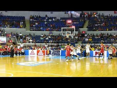 Japeth Aguilar hits the game-tying triple to send the game to OT, but Phoenix survives