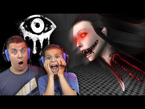 OMG THATS A FLOATING HEAD!! Eyes: The Horror Game (Super Creepy)