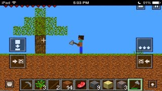 2D Minecraft for the iPhone