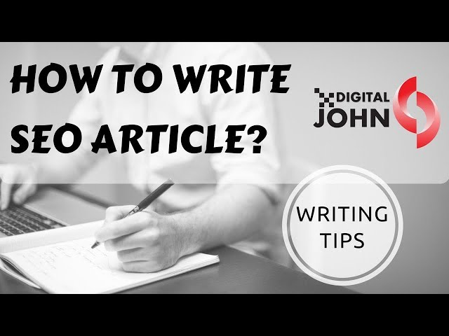 How to Write SEO Article? || Digital John