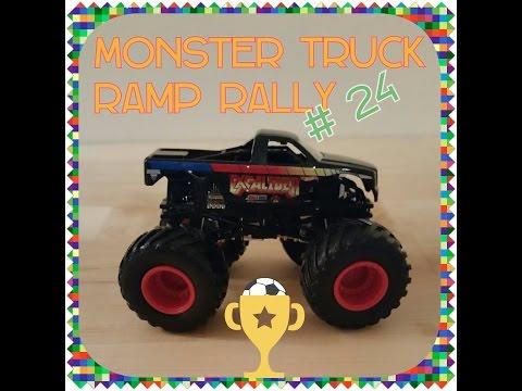 Monster Truck Ramp Rally no  24