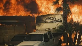 30 photos you have not seen for Thomas Fire burns in Ventura County