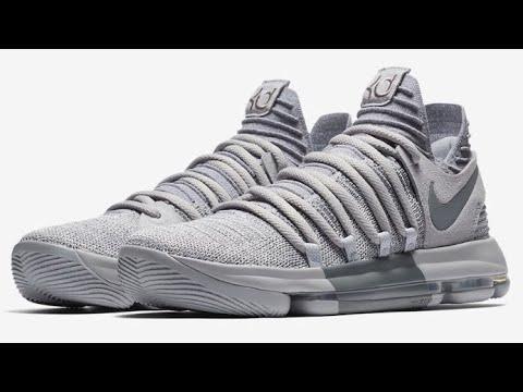 d4415e2eed20f3 Nike KD 10  Wolf Grey
