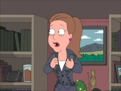 Family Guy - Busy business woman