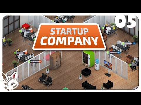 HUGE OFFICE SPACE! Creating a Great Environment  | Startup Company Gameplay Part 5