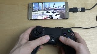 GTA 5 Samsung Galaxy S6 Edge Plus NVIDIA GameStream PS4 Controller Gameplay!(, 2015-11-29T01:27:21.000Z)