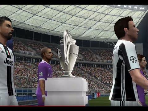 PES 2017 (PS2) Juventus vs Real Madrid - Champions League - FINAL