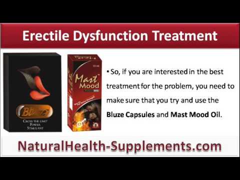 ayurvedic medicine to treat erectile dysfunction