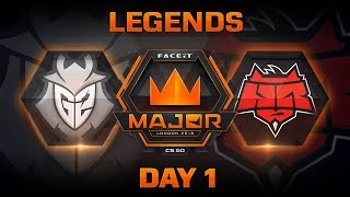 FACEIT Major: London 2018 - Legends Stage