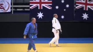 Australian Nationals judo 2016 veteran men 100 kg