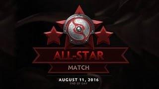 ti6 all star match   the international 2016 all star   dota 2 all star 2016   slacks vs kaci