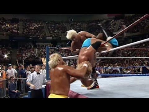 Ric Flair enters at No. 3, winning the Royal Rumble Match - Jan. 19, 1992
